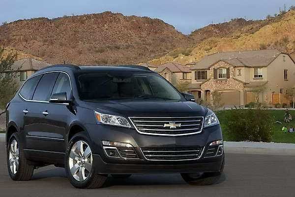 2018 2019 Chevrolet Traverse The New 8 Seater Crossover 2018