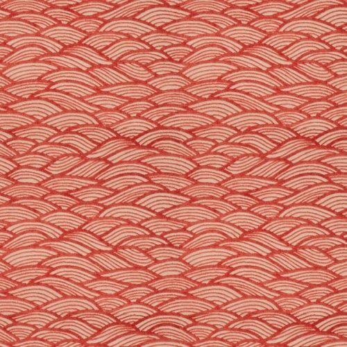 28 Fabricut Oceanspray Coral Fabric   Fabricut Oceanspray Coral Fabric / Oceanspray / Coral
