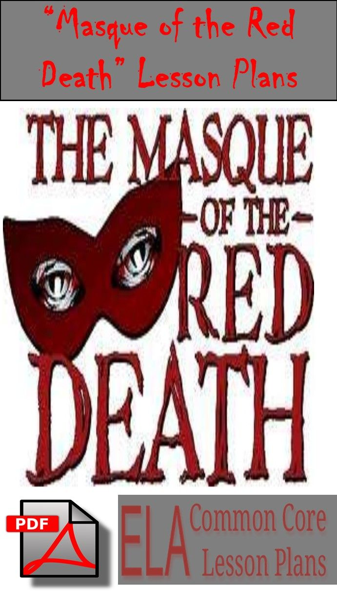 Teaching Masque Of The Red Death Lesson Plan On Symbolism Ela