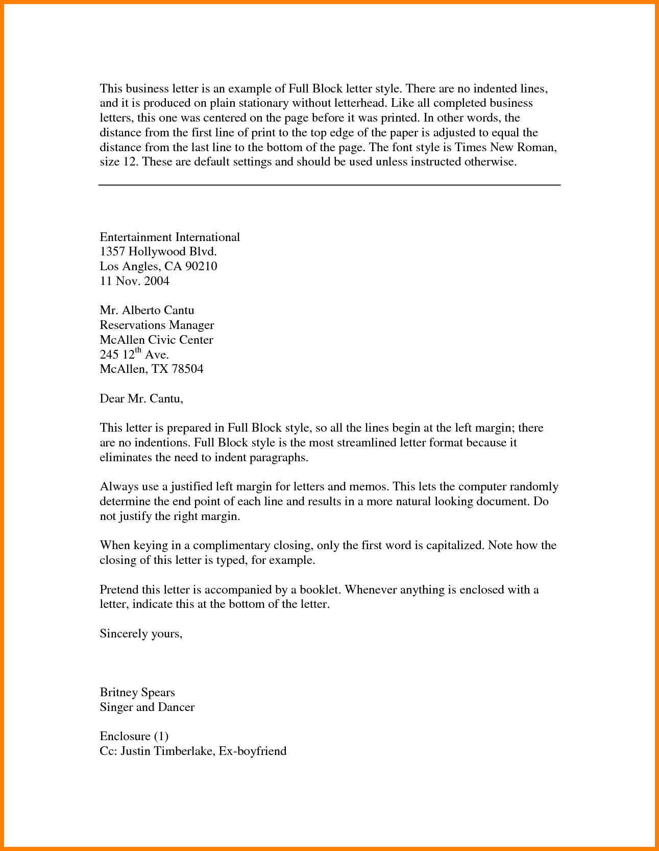 [ Block Style Business Letter Format For Letterhead Example Semi Letters  Cover Templates ]   Best Free Home Design Idea U0026 Inspiration  Letterhead Format Word