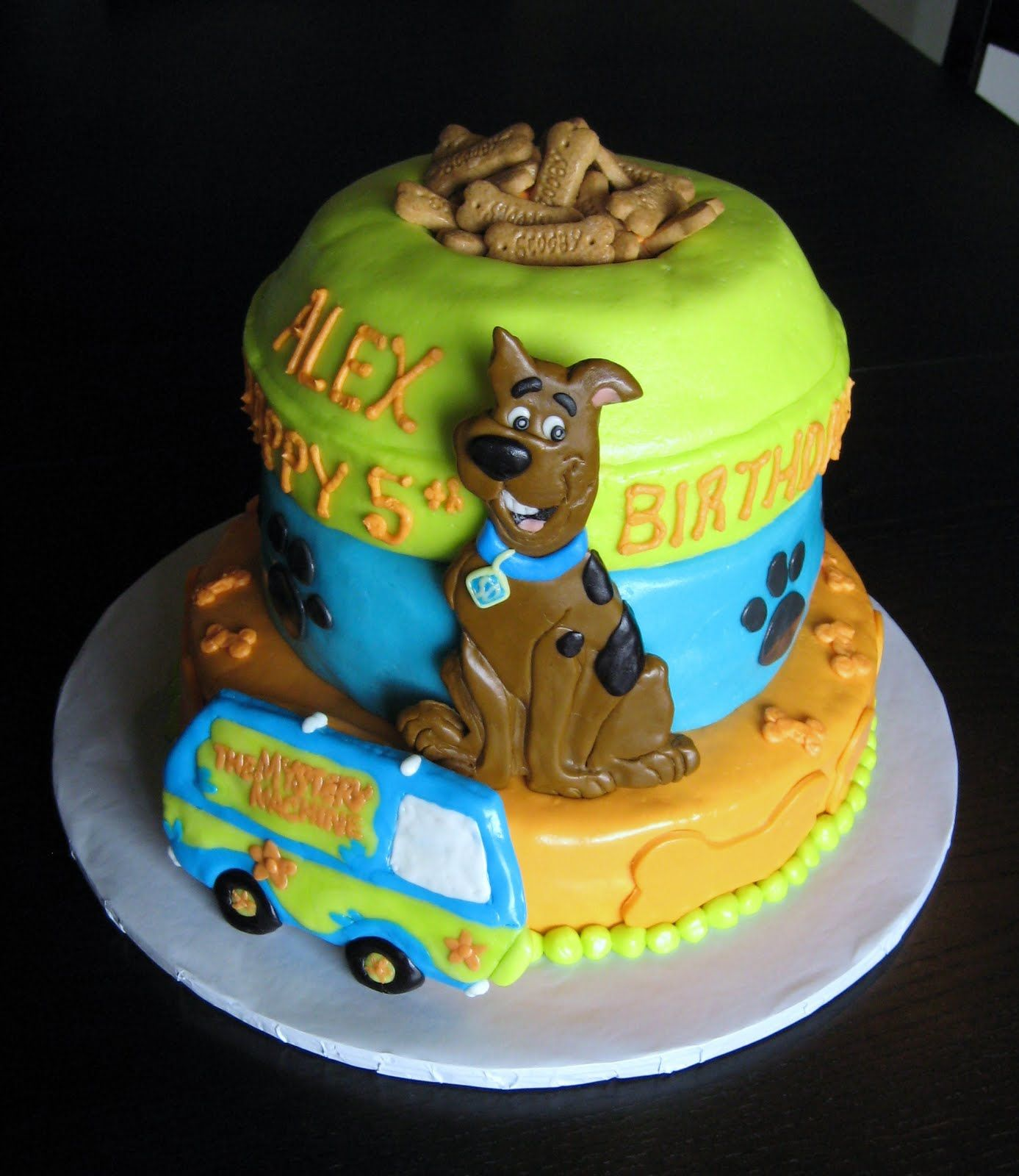 Scooby Doo Birthday Cake Ideas With Images Scooby Doo Cake
