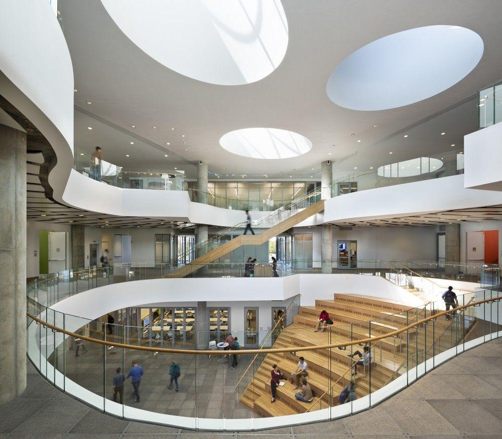 School Interior Design: Gallery Of Henry W Bloch Executive Hall At University
