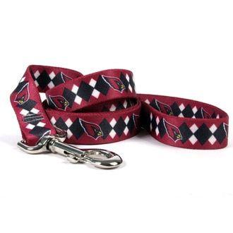 brand new c448f 48543 Arizona Cardinals Argyle Dog Leash | Products | Dog leash ...