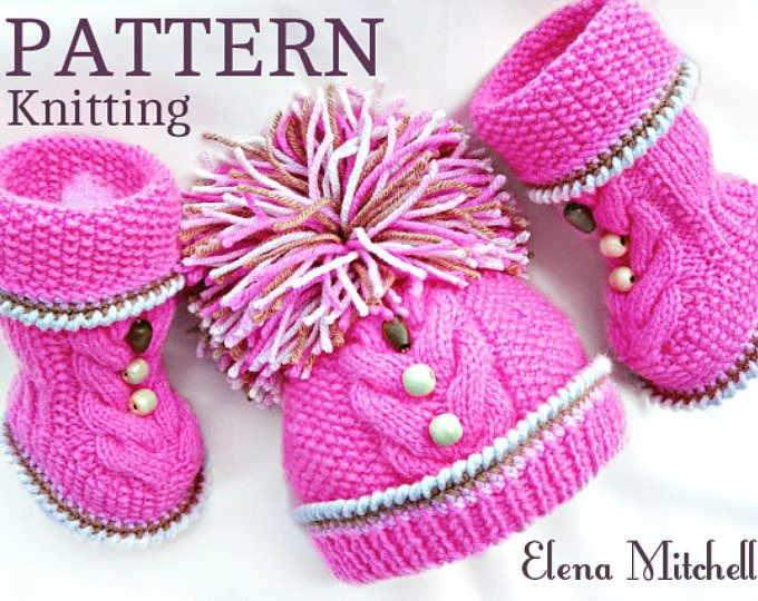 Baby Hat P A T T E R N Knitting Baby Hat Baby Patterns Knitted Baby ...
