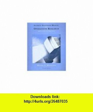 Download Operations Research Applications and Algorithms ...