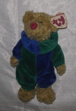 PICCADILLY THE CLOWN BEAR - Ty Attic Treasure Beanie  7e61f81f1786