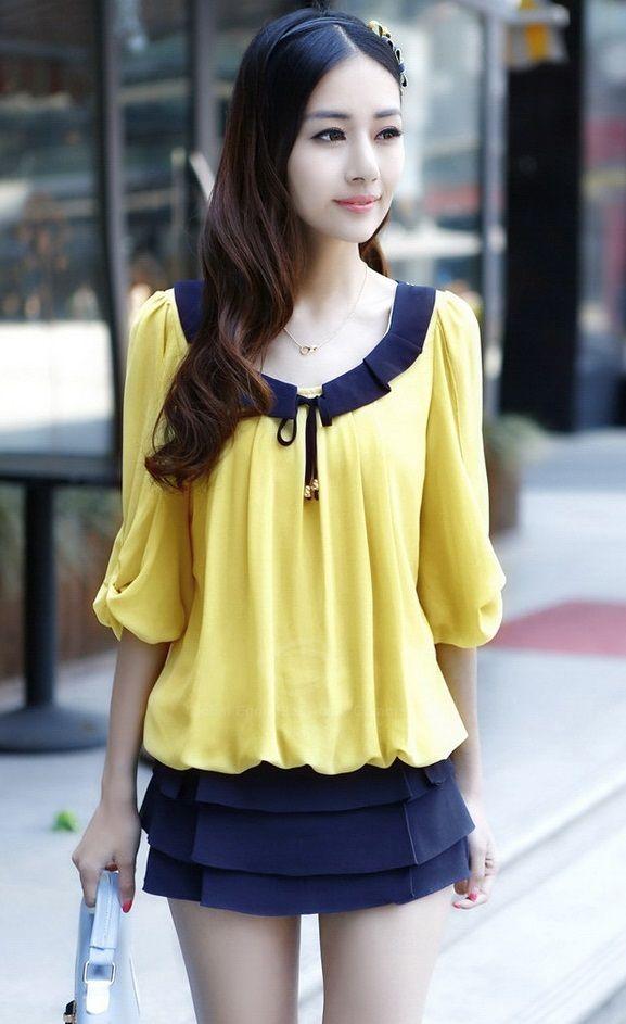 c5d3cda23 Blusas Casuales Y Elegantes Coreanas | Search Results | News ...