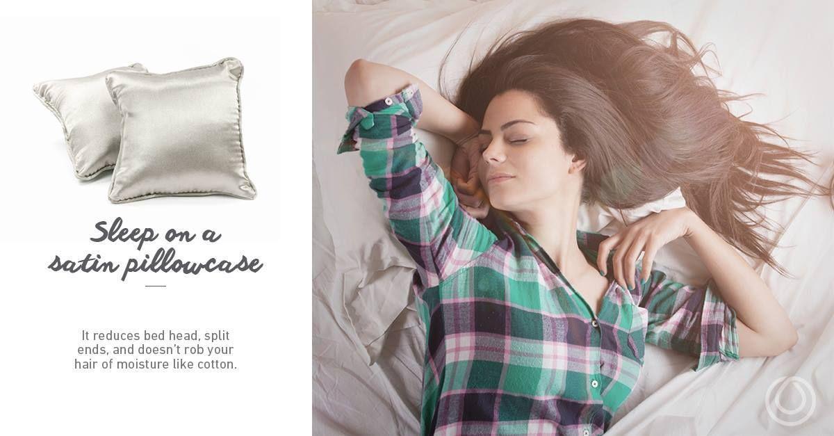 #MONATBeautyTip of the Week: Sleep on a satin pillowcase. #MONAT