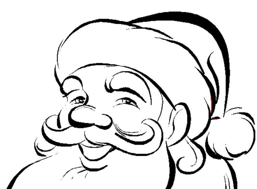 Bambini Babbo Natale Disegno.Disegni Da Colorare Per Bambini Sul Natale Disegno Di Viso Di Babbo Natale Da Colorare Disegni Da Colorare Disegni Da Colorare Per Bambini Disegni Di Alberi