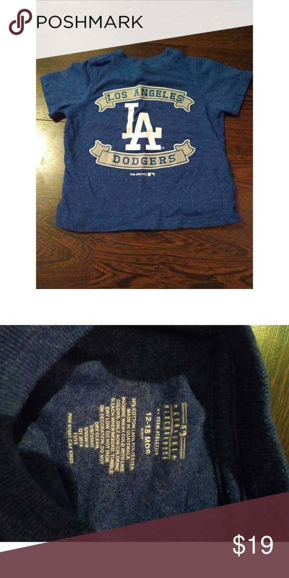 e43f2487d8e Genuine merchandise Los Angeles Dodgers tshirt Genuine merchandise by team  athletics Make an offer! Genuine Merchandise Shirts   Tops Tees - Short  Sleeve