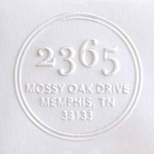 Great Gift Idea For Wedding House Warming The Friend Who Has Everything A Customized Return Address Embosser Via Cup Of Jo Instead Label Stamp