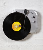 If I had records, then I would get this... Wall Mounted Vinyl Turntable