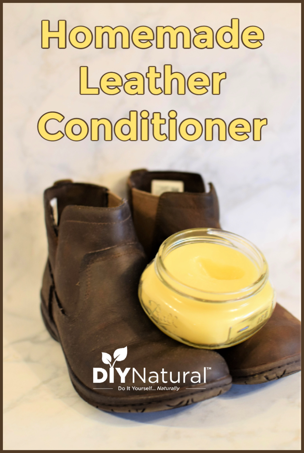Homemade Leather Conditioner Clean, Soften, and Protect