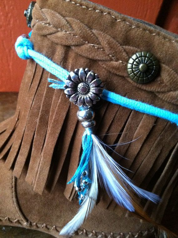 Womens Wrapped Charm Boot Jewelry by JanesHappiness on Etsy, $25.00