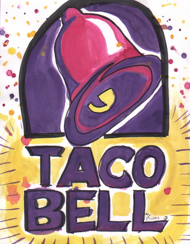 Taco Bell Live Mas Slothsinhats Art Taco Bell Lily