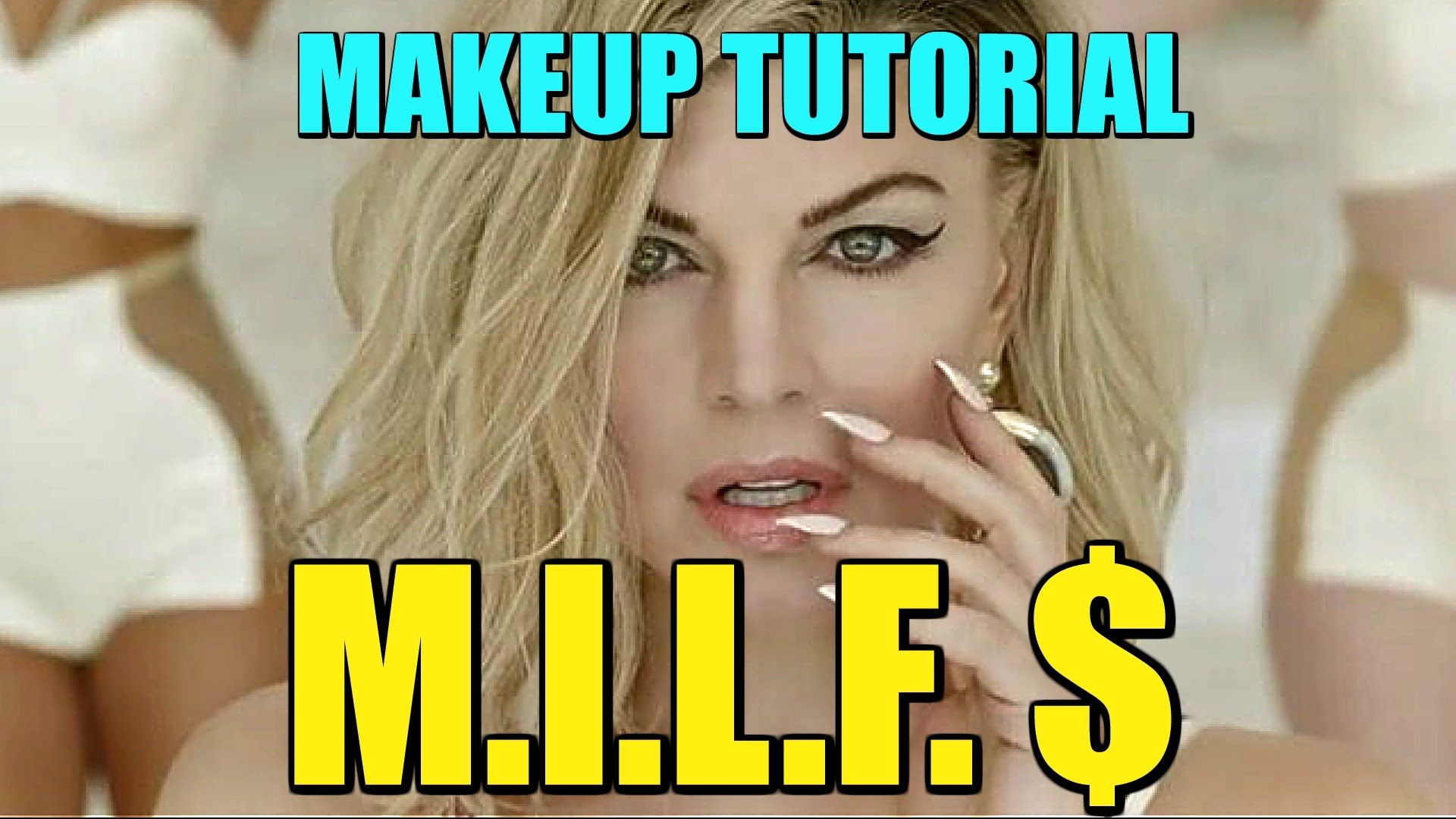 FERGIE M.I.L.F. $ MAKEUP TUTORIAL | MakeupByMegB Subscribe: http://www. youtube