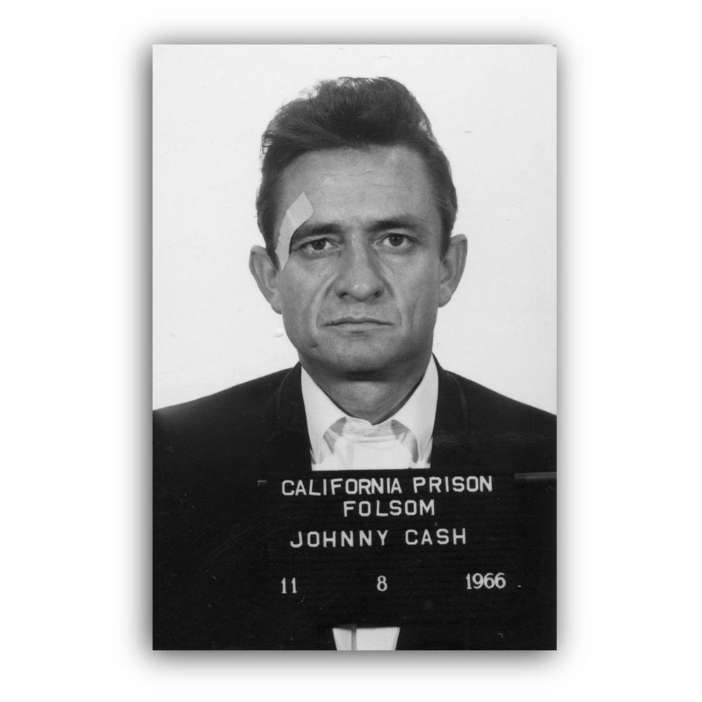 Johnny Cash Police Mugshot Canvas Wall Art Print Geometric Etsy In 2020 Geometric Art Prints Johnny Cash Wall Art Prints