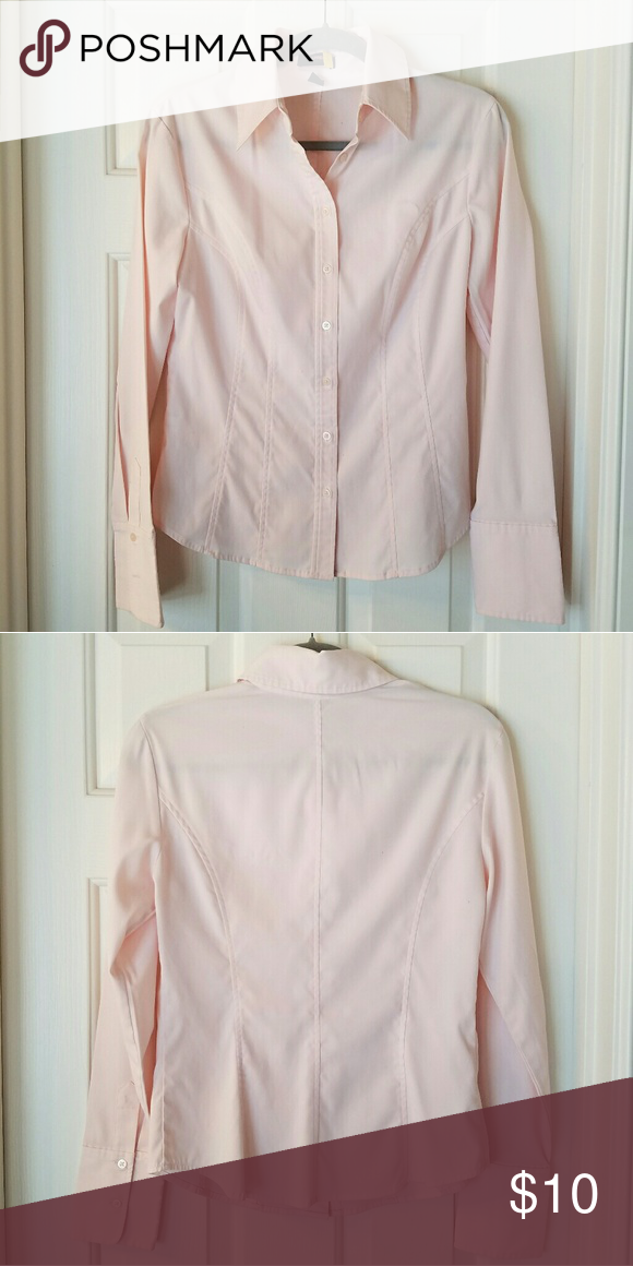 EXPRESS STRETCH LIGHT PINK BUTTON-DOWN SHIRT Available in several colors. Please browse my closet for more options. I have donated most of my formal work clothing several years ago for a good cause. These are what I kept but they no longer fit me. I hope they find a good new home! Offers and shares appreciated! ? Express Tops Button Down Shirts