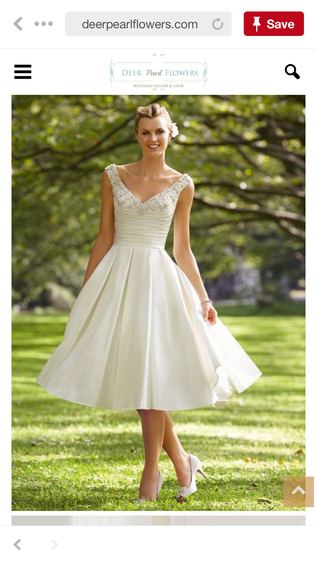 Pin by Lyndal Shelley on For Zoee Short bridal dress