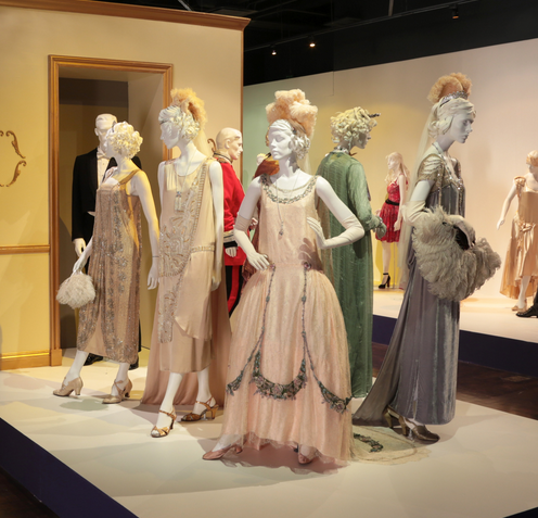 Downton Abbey costumes by Costume Designer Caroline McCall, nominated for the 2013-2014 Emmy Award for Outstanding Costume Design.