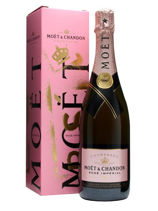 Moet chandon rose imperial champagne 75cl bottle price for What is rose champagne