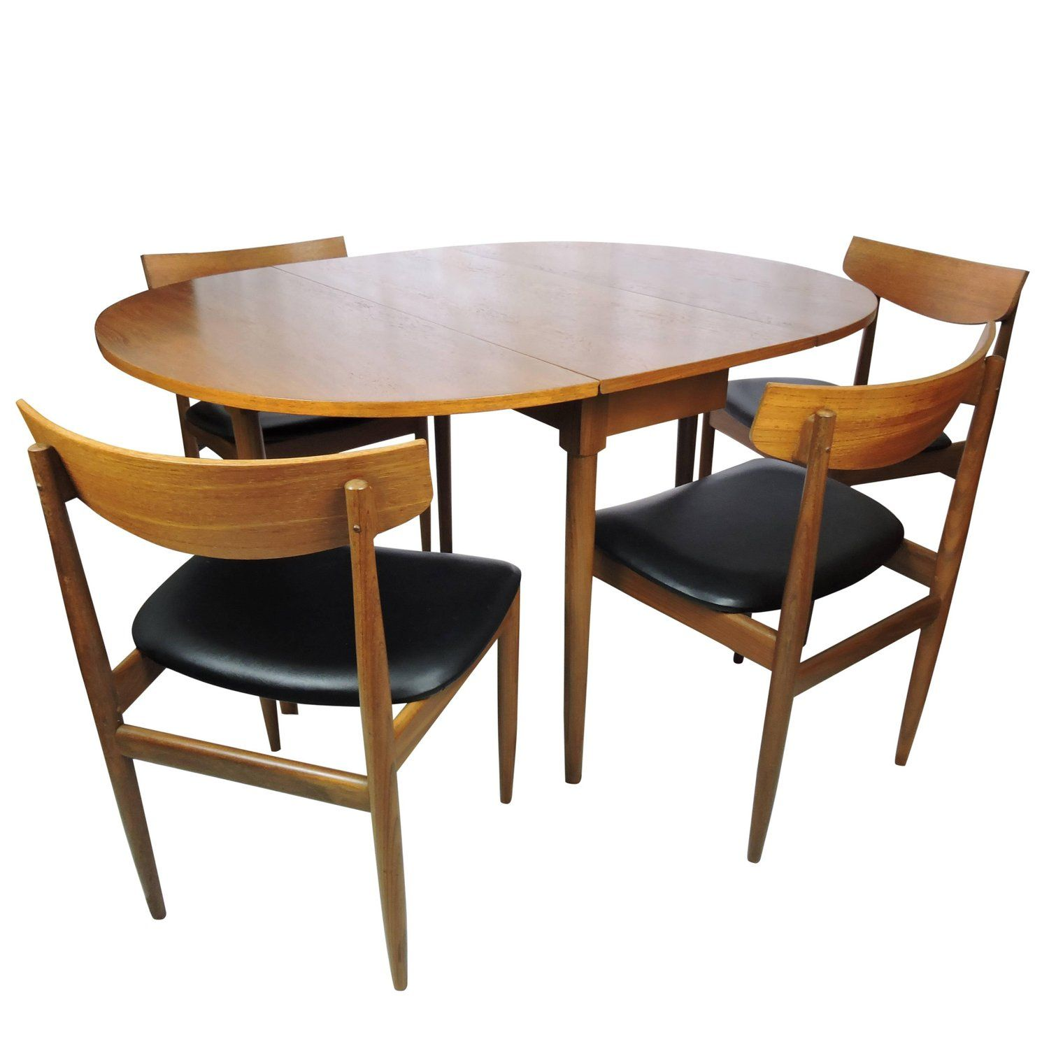 Midcentury G Plan Dining Table And Chairs Vintage Dining Table
