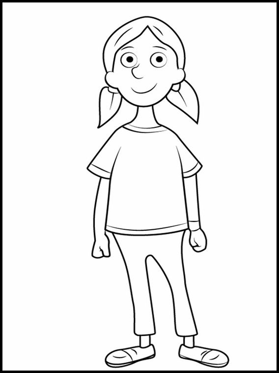 Horrid Henry 13 Printable coloring pages for kids (con