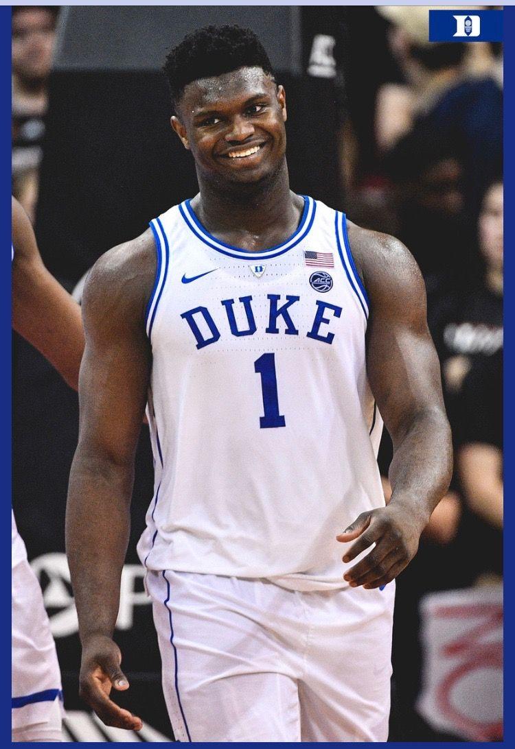 Zion Williamson Basketball Jersey Duke Blue Devils Duke Basketball