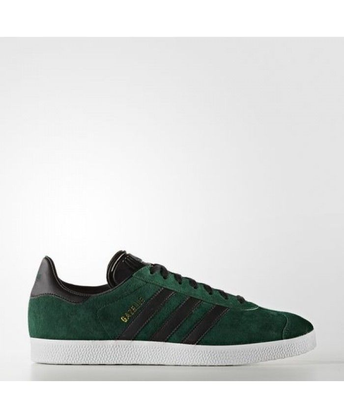 Mens Adidas Gazelle Collegiate Green Black Gold Met. Bb5487 ...
