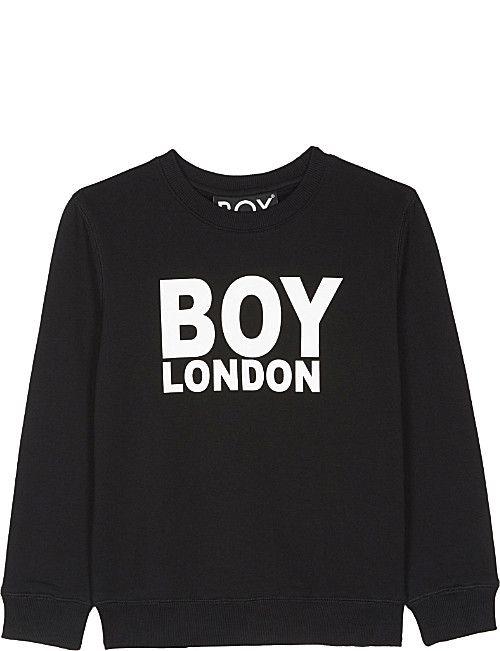 8c8c7338f BOY LONDON Logo cotton jumper 3-12 years | Boys Clothes | Boys, Boy ...