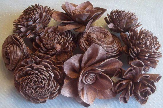 Mason Sola Wood Flowers #Solawoodflowers#Wedding #HomeDecor