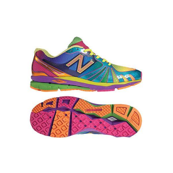 finest selection 08afa 74f46 New Balance 890 RG Revlite   Rainbow Pack - New Balance 890 Rainbow ❤ liked  on Polyvore featuring shoes, sneakers, new balance, rainbow shoes, ...