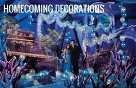 Homecoming Under The Sea Decorations<3