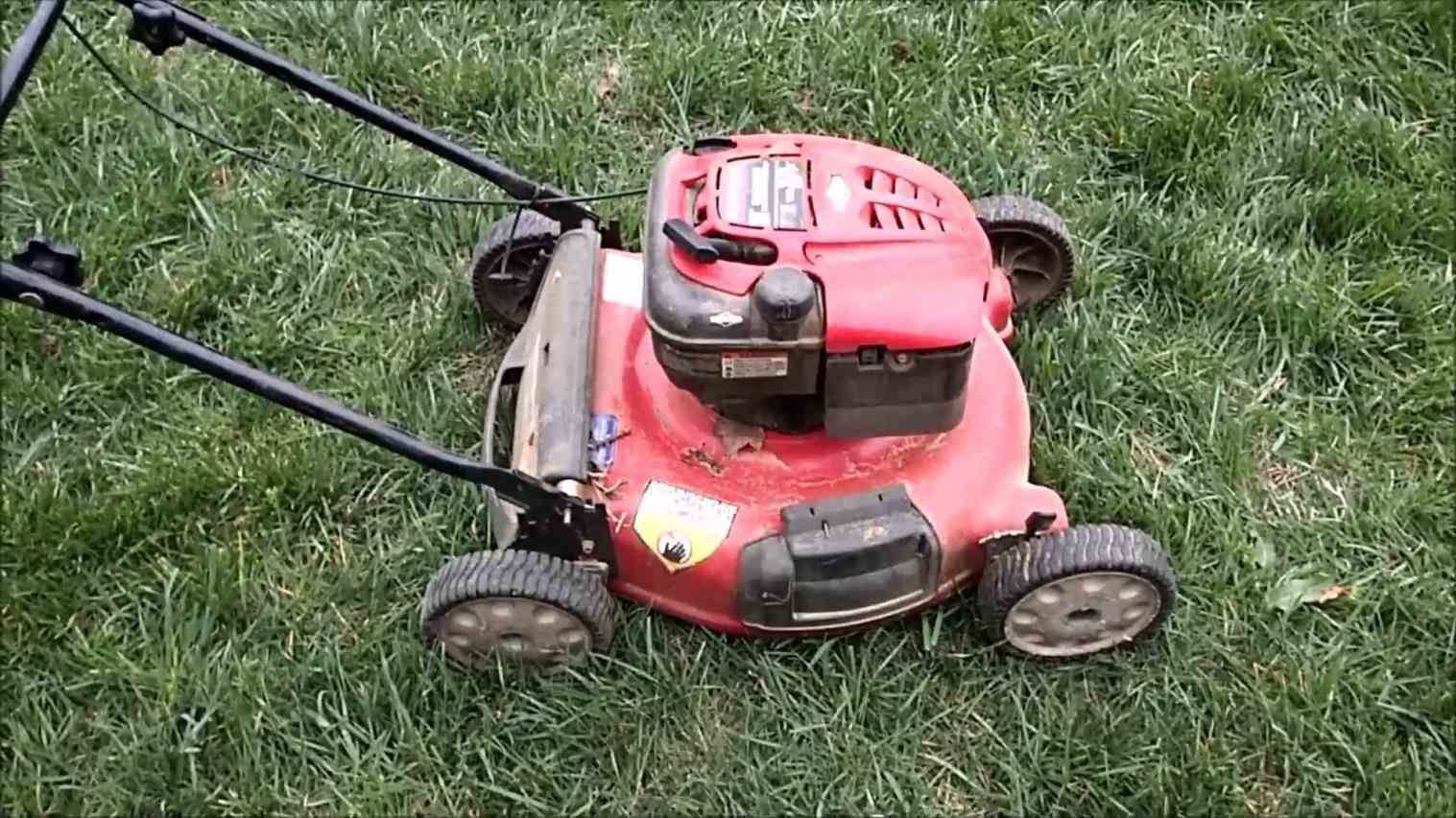 How to DIY Winterize / Store your Troy Bilt Lawn Mower for