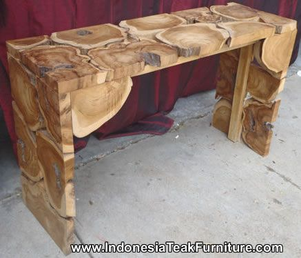 Teak Root Wood Furniture Java Indonesia