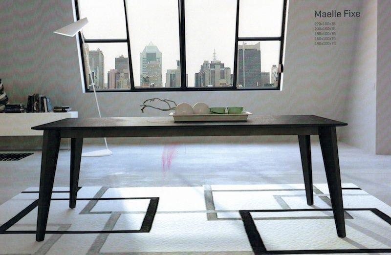 Table de repas rectangulaire plateau c ramique table c ramique table entryway tables desk - Table salon dessus ceramique ...