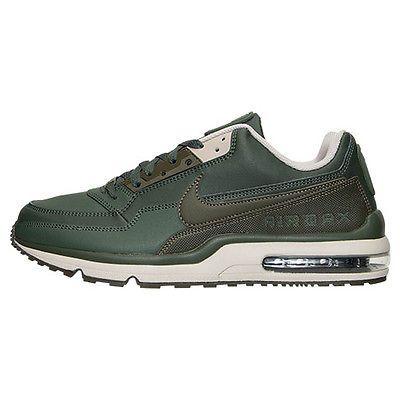 super popular 1d311 b1198 Nike Air Max Ltd 3 Mens 810880-300 Carbon Green Athletic Running Shoes Size  8.5