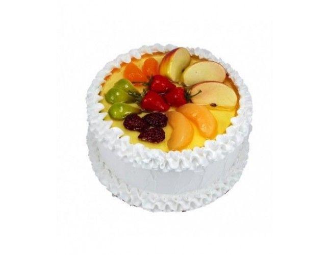 Fresh Fruit Cake Online Bolo Decorado Com Frutas Bolos Decorados Bolo