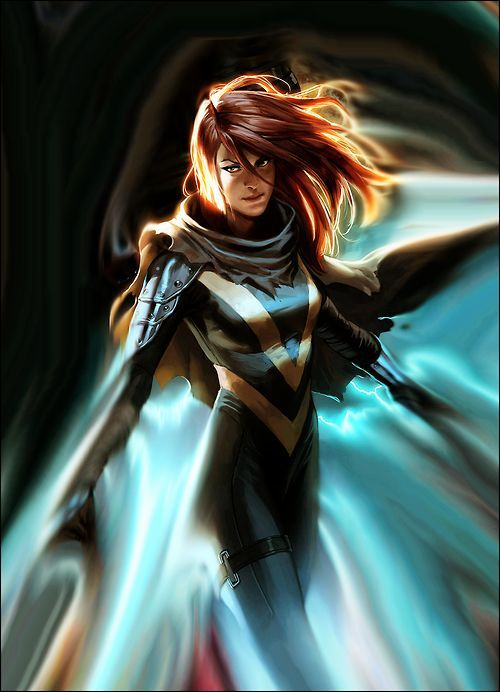 Hope Summers by Marko Djurdjevic  To me, she looks like actress Jennifer Carpenter in this drawing...: