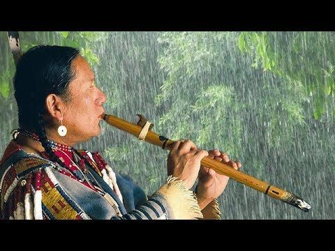 Native American Flute and Rain - Music for Relaxing, Sleeping and