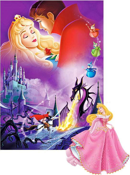 Aurora Disney Doornroosje Disney Schilderijen Schilderij Met Steentjes
