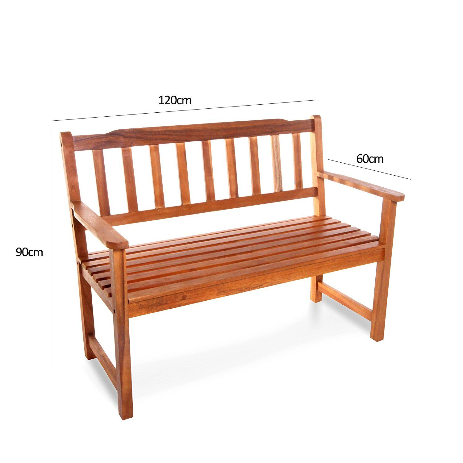 Billyoh Windsor Traditional 2 Seater Wooden Garden Bench Amazon