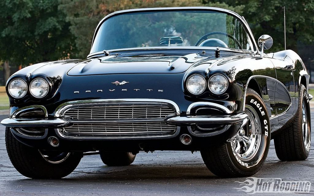 61 Bad Black Vette Muscle Cars Classic Cars Classic Cars Muscle