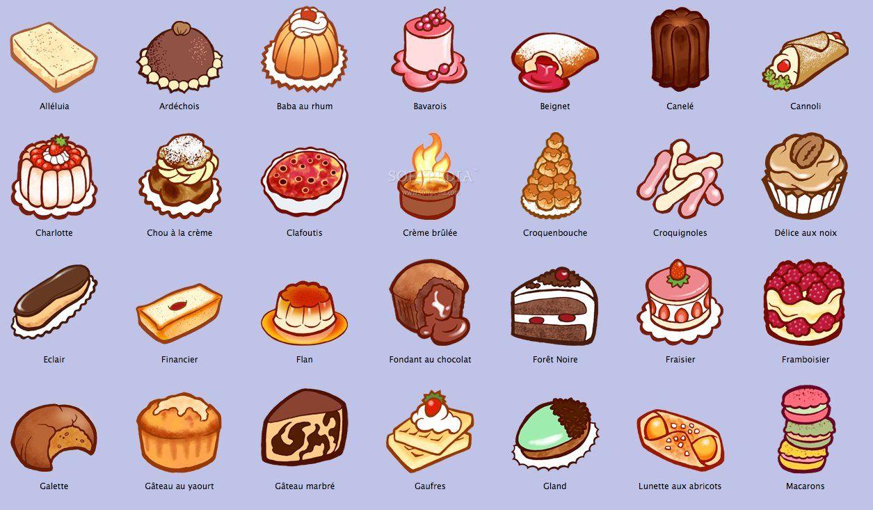 cakes and pastries description
