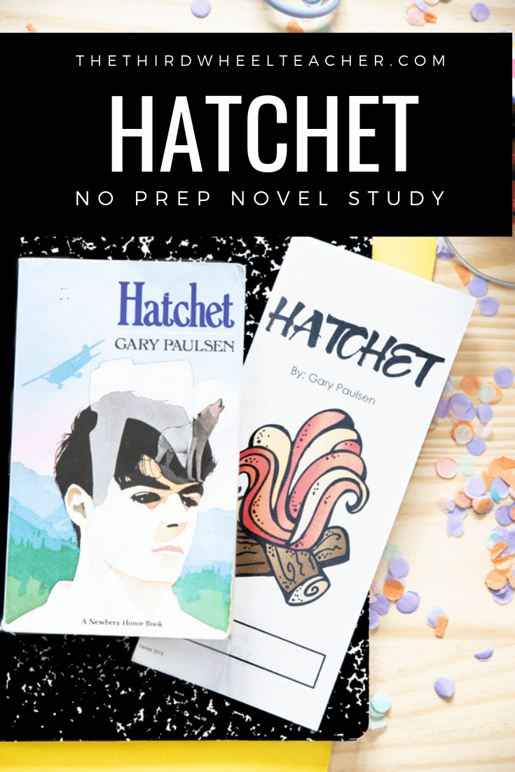 Hatchet Novel Study Guide Hatchet Novel Study Hatchet Book Study Hatchet Novel