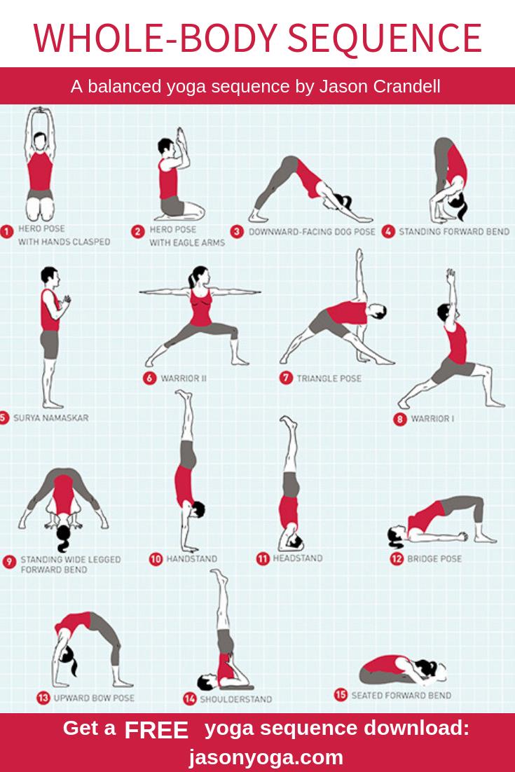 Home Yoga Sequences 30 Minute Yoga Jason Crandell
