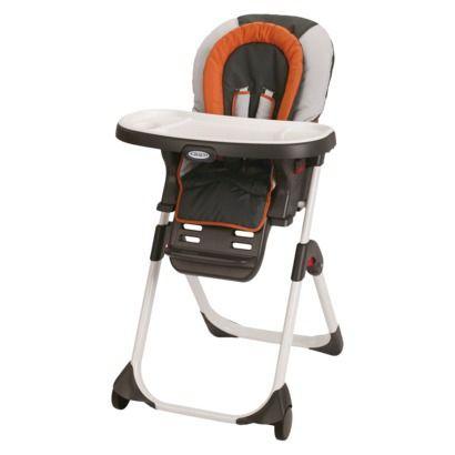 Graco Duodiner Lx Highchair Orangegray Toddler High Chair High Chair Baby High Chair