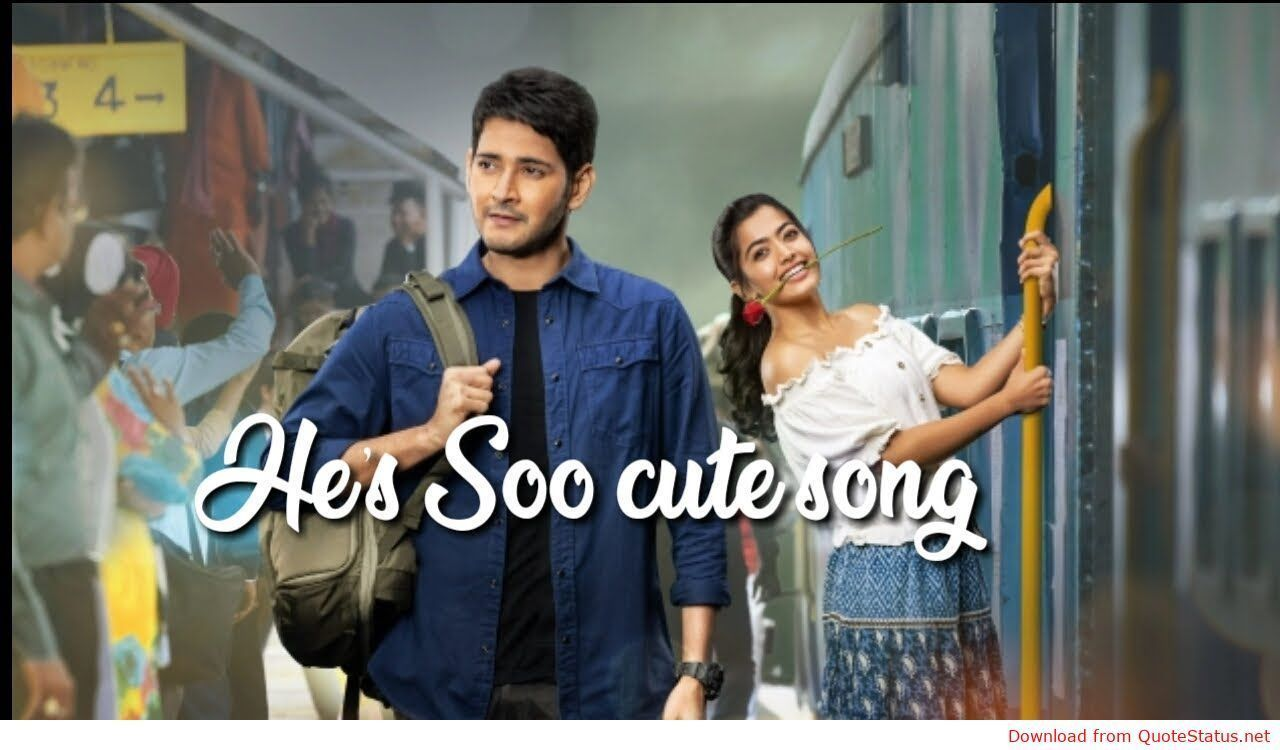 He S Soo Cute Sarileru Neekevvaru Song Download Video Status Mp3 Mp4 Telugu Song By Madhu Priya In 2020 Songs New Song Download Cute Songs