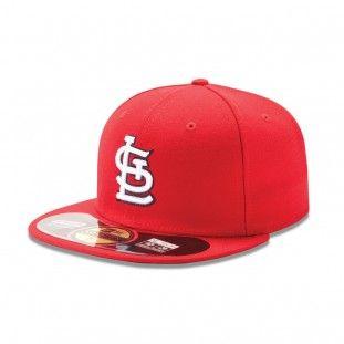 hot sale online 1bcbd 40967 St. Louis Cardinals New Era MLB Ac Game 59Fifty Hat (Red)