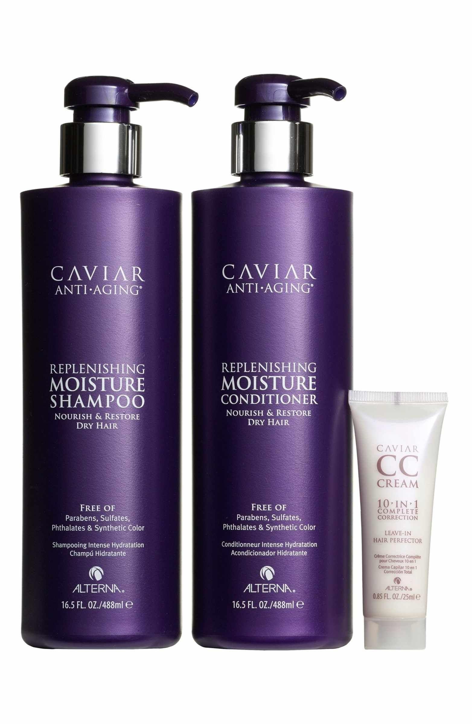 Alterna Caviar Set Usd 114 Value Caviar Shampoo Moisturizer